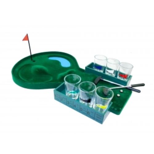 Игры настольные: гольф со стопками (фа-и-06)