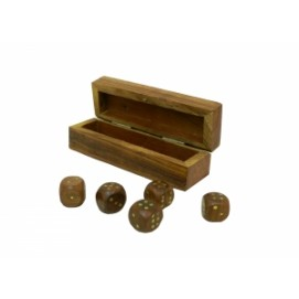Кости в продолговатой коробке шишам (кд-17)