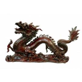 Статуетка Дракон ползущий с выдвинутой лапой (фа-х-192)