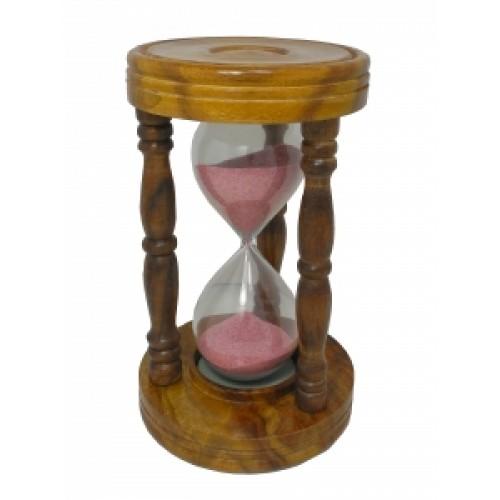 Часы песочные в дереве на 10 минут (чп-52)