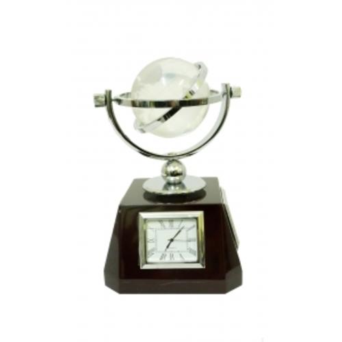 Канцелярские принадлежности: глобус с часами, термометром, барометром (фа-кп-54)