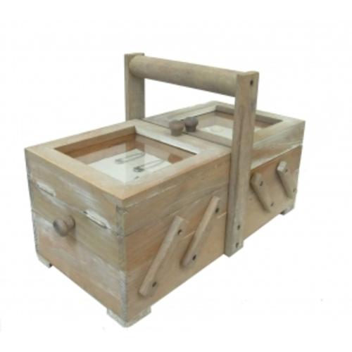 Полезные вещи: раздвижной ящик для ниток и иголок (фа-пв-03)