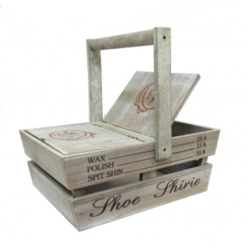 Полезные вещи: деревянный ящик для обуви (фа-пв-02)
