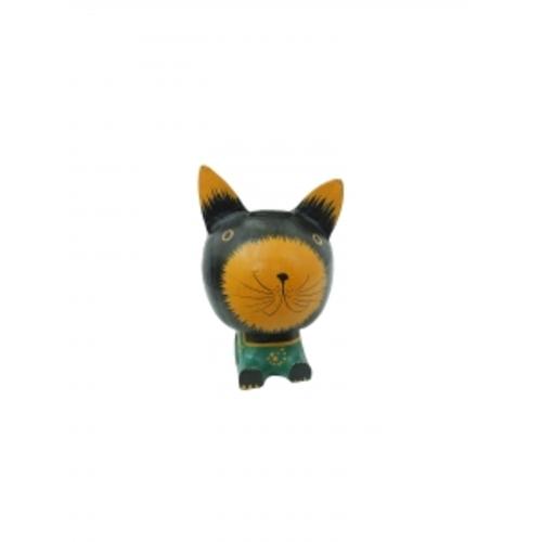 Котик - копилка, 3 цвета (кн-172)