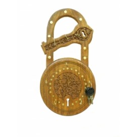 Подставка для ключей в форме замка: ключница шишам (фа-пк-67)