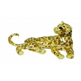 Золотые фигурки: гепард (фа-жз-33)