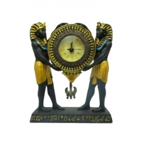 Статуэтка фараоны держат часы 19см (ФА-пф-06)