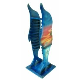 Подставка под CD Дельфин деревянный (фа-сд-11)
