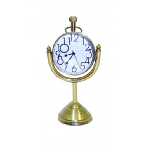 Часы латунные в увеличительном стекле, 2 вида (фа-чл-18)
