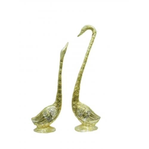 Статуетка Лебеди, пара, смотрят друг на друга (фа-ла-09)