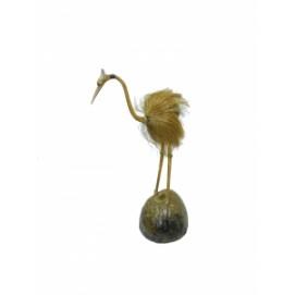 Статуэтка Аист из кокоса, 60см, (ФА-АК-27)