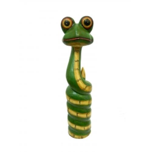 Статуетка Змейка крашенная, лупоглазая (фа-з-56)