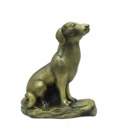 Статуетка Бронзовая собака (фа-бс-31).