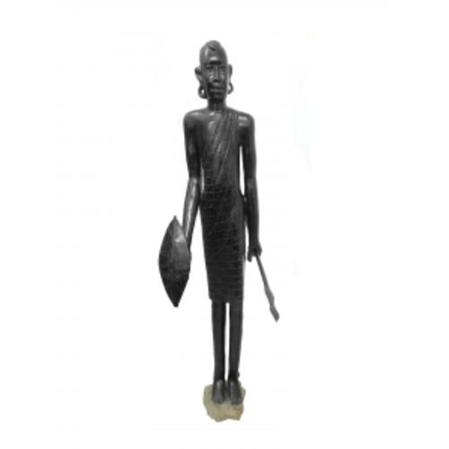 Статуэтка эбеновая масаи 170см (ФА-фэ-98)