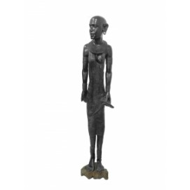 Статуэтка эбеновая Африканка, 180см (ФА-фэ-77)