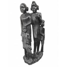 Статуэтка  африканская семья, 40см (ФА-фэ-34)