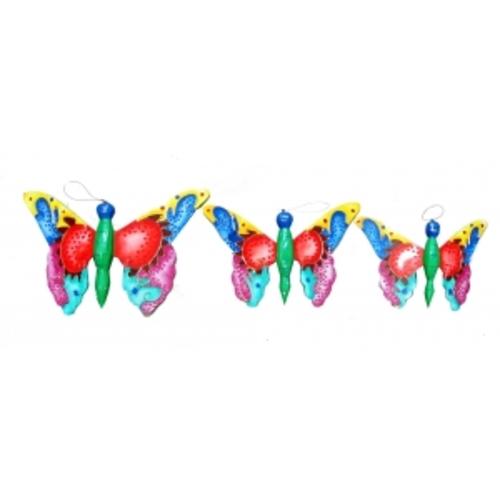 Статуетка  Набор бабочек с узором (фа-бб-04, бб-05, бб-06)