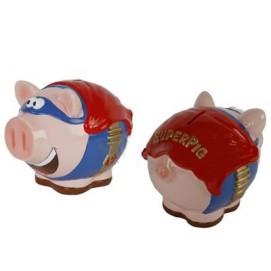 Копилка свинка Superpig, 18х14х16 см WOW-536849