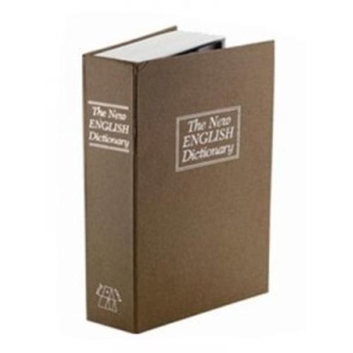 Сейф-книга Английский словарь  24х15,5х5,5см, коричневый WOW-22967