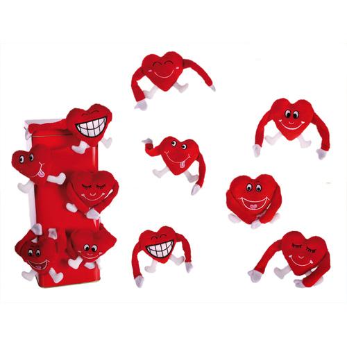 Подарок на 14 февраля - Магнит Сердечные обнимашки 62-6072