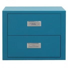 Модуль-комод двухдверный голубой Stack 8008215349800 Seletti