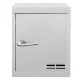 Модуль-шкаф однодверный серый Stack 8008215449845 Seletti