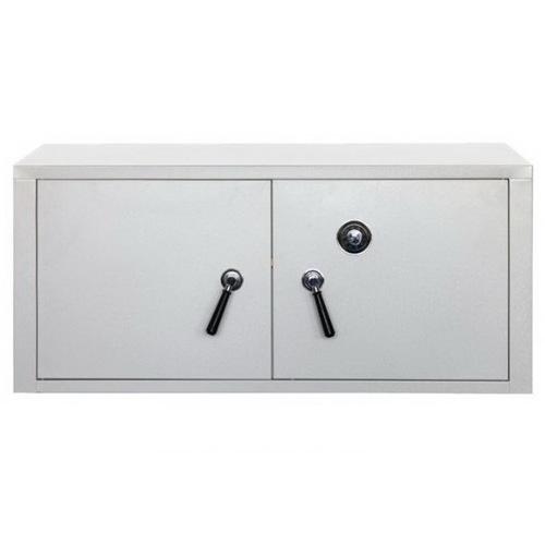 Модуль-сейф двухдверный серый Stack 8008215449821 Seletti