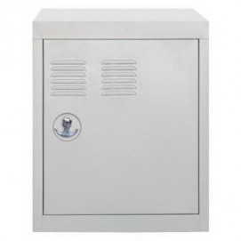 Модуль-шкаф однодверный серый Stack 8008215449838 Seletti