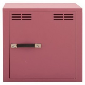 Модуль-шкаф однодверный розовый Stack 8008215149851 Seletti