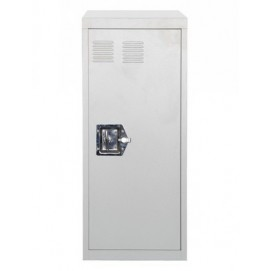 Модуль-шкаф однодверный серый Stack 8008215449876 Seletti