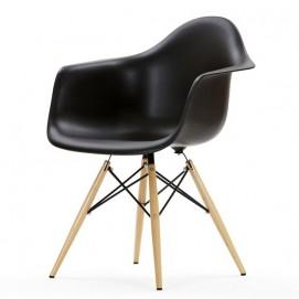 Кресло ТАУЭР ВУД черное Mebelmodern ноги дерево