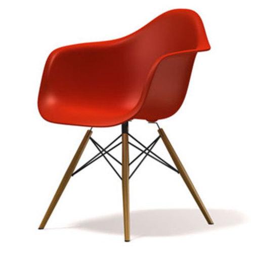 Кресло ТАУЭР ВУД красное Mebelmodern ноги дерево