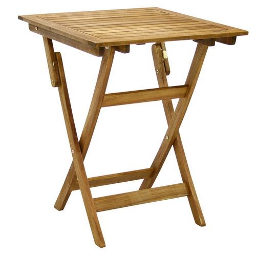 Стол обеденный из массива акации натуральный 13186 Evelek