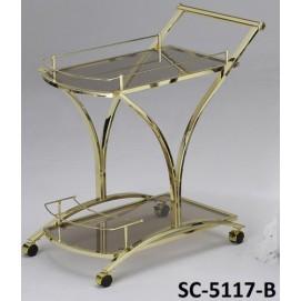Стол сервировочный SC-5117-B Onder черный
