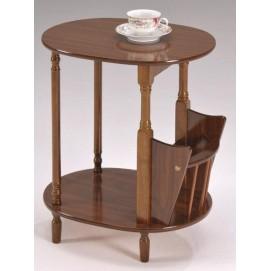 Стол кофейный SR-0751 Onder MEBLI коричневый