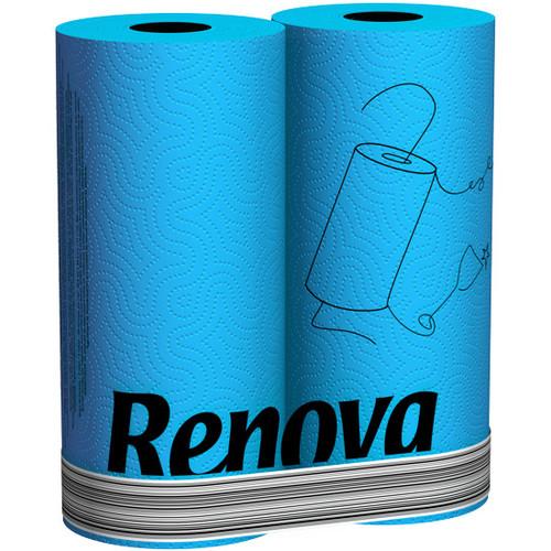 Renova кухонные полотенца голубые 2 шт. 12003