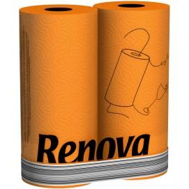 Renova кухонные полотенца  оранжевые 2 шт. 11075