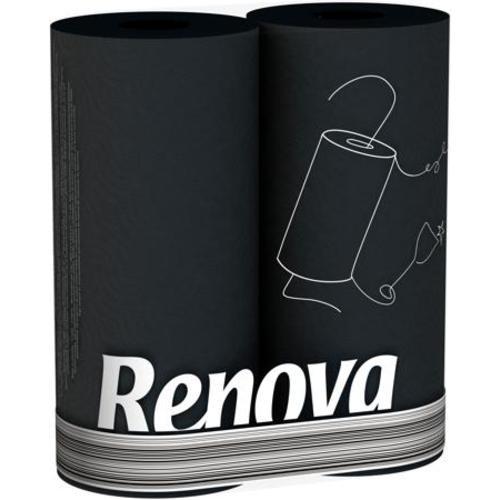 Renova кухонные полотенца  черные 2 шт. 11068