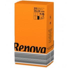 Renova салфетки оранжевые30х39 10771