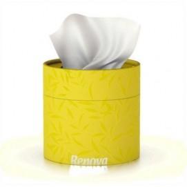 Renova салфетки косметические коробках 40шт. (желтые) 12300