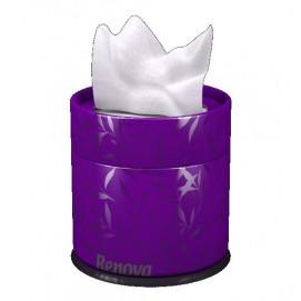 Renova салфетки косметические коробках 40шт. (фиолетовые) 10054