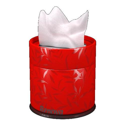 Renova салфетки косметические коробках 40шт. (красные) 10016