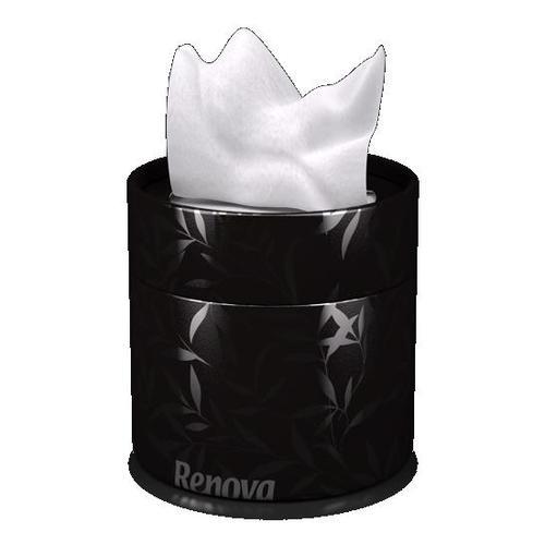Renova салфетки косметические коробках 40шт. (черные) 92300
