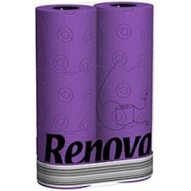Renova туалетная бумага фиолетовая 6 шт. 15943