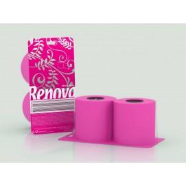 Renova туалетная бумага фуксия 2 шт. 12980