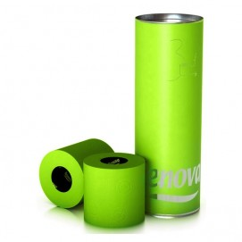 Renova туалетная бумага   зеленый подарочный тубус 3 шт. 10634