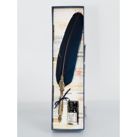 Набор из пера и чернила La Kaligrafica 2300-24 темно синий