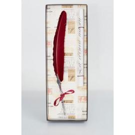 Набор из пера и свитка La Kaligrafica 2030-23 бордовый