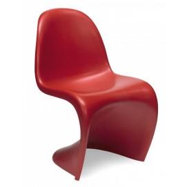 Стул Verner Panton Style Chair красный S00068 ОРИГИНАЛ