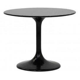 Стол Eero Saarinen Style Tulip Table ОРИГИНАЛ черный s00192